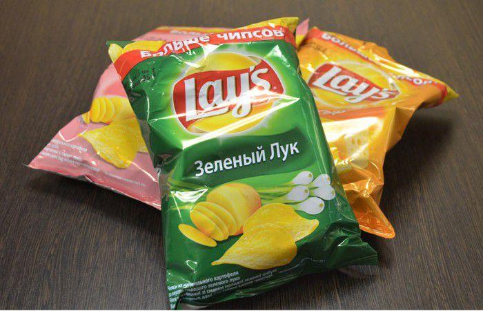 Как сделать лейс чипсы